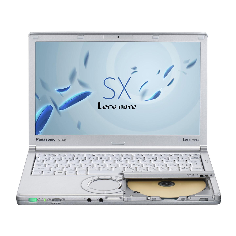 中古レッツノート Lets note CF-SX4 Intel Corei5 第5世代 メモリ8GB HDD1000GB ドライブ カメラ