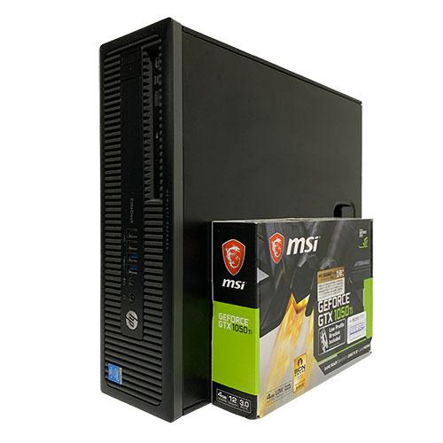 中古ゲーミングPC Aランク スリム Corei5 第4世代 メモリ8GB HDD500GB GTX1050Ti ドライブ