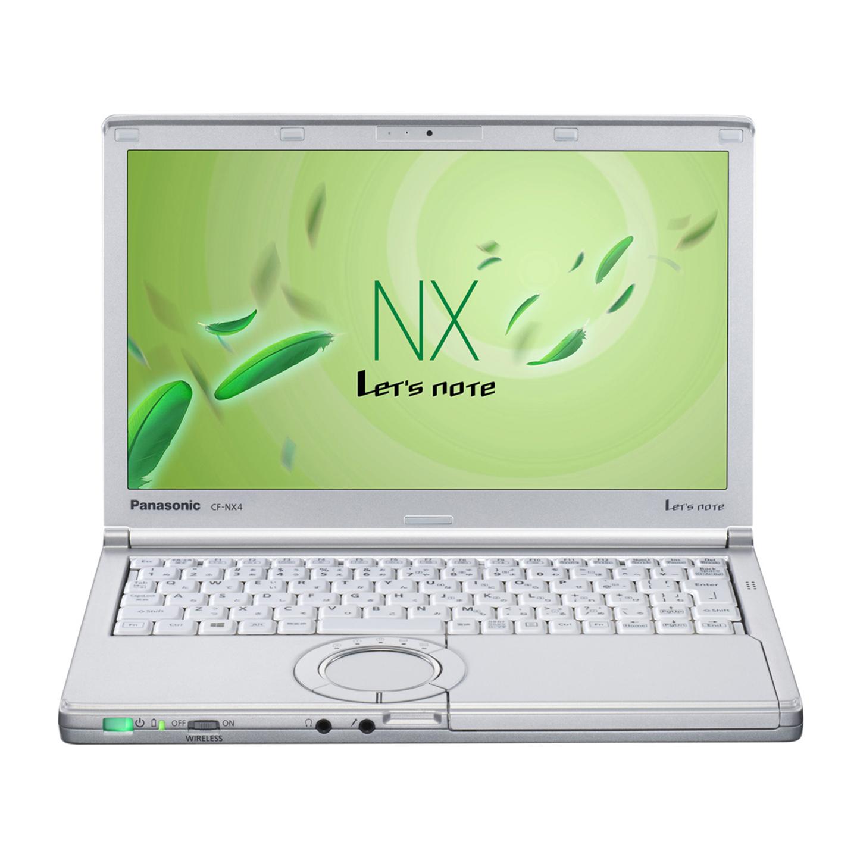 中古レッツノート Lets note CF-NX4 Intel Corei5 第5世代 メモリ4GB SSD256GB カメラ