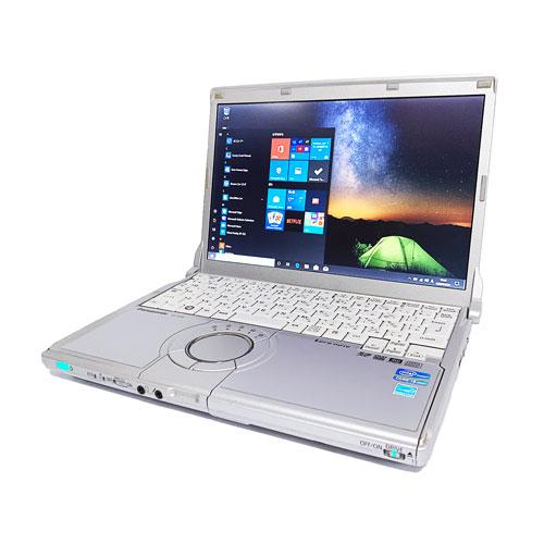 中古レッツノート Lets note CF-S10 Intel Corei5 第2世代 メモリ4GB HDD250GB ドライブ カメラ