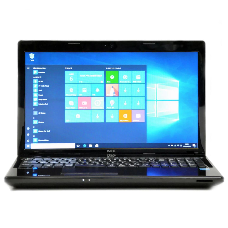 中古バーサプロ VersaPro VK22LF-F Intel Corei3 第2世代 メモリ4GB HDD500GB ドライブ