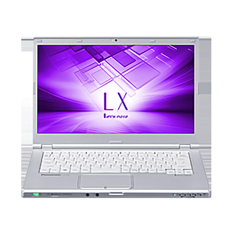 中古レッツノート Lets note CF-LX6 Intel Corei5 第7世代 メモリ8GB SSD256GB カメラ